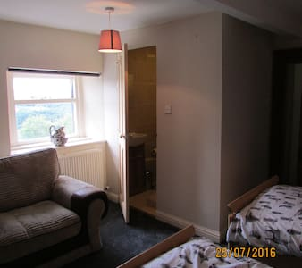 Twin room, Tollgate house - Pudsey