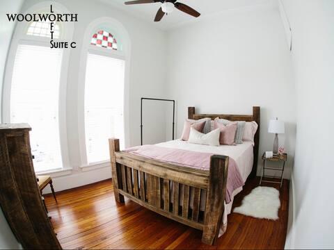 Woolworth Lofts, Suite C. Historic Selma, Alabama