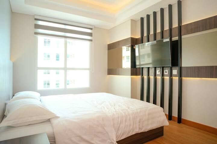 Balikpapan Serviced Apartment@Borneo Bay City 2BRb