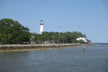 Pet Friendly Ocean Walk with Free Bikes - Saint Simons Island