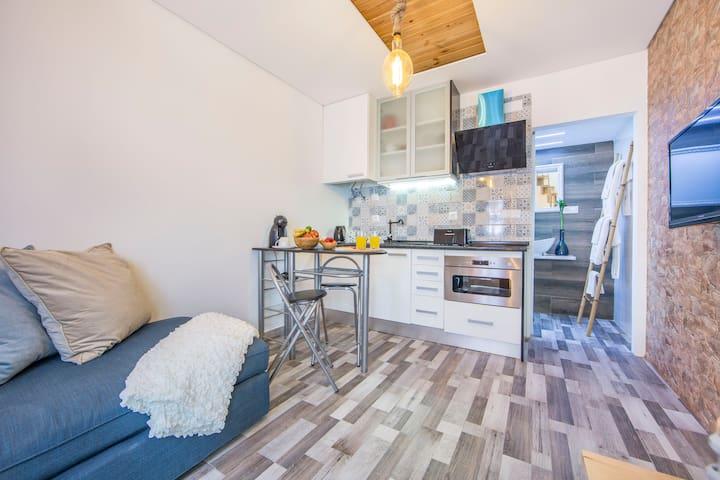 Kitchenette/Living room