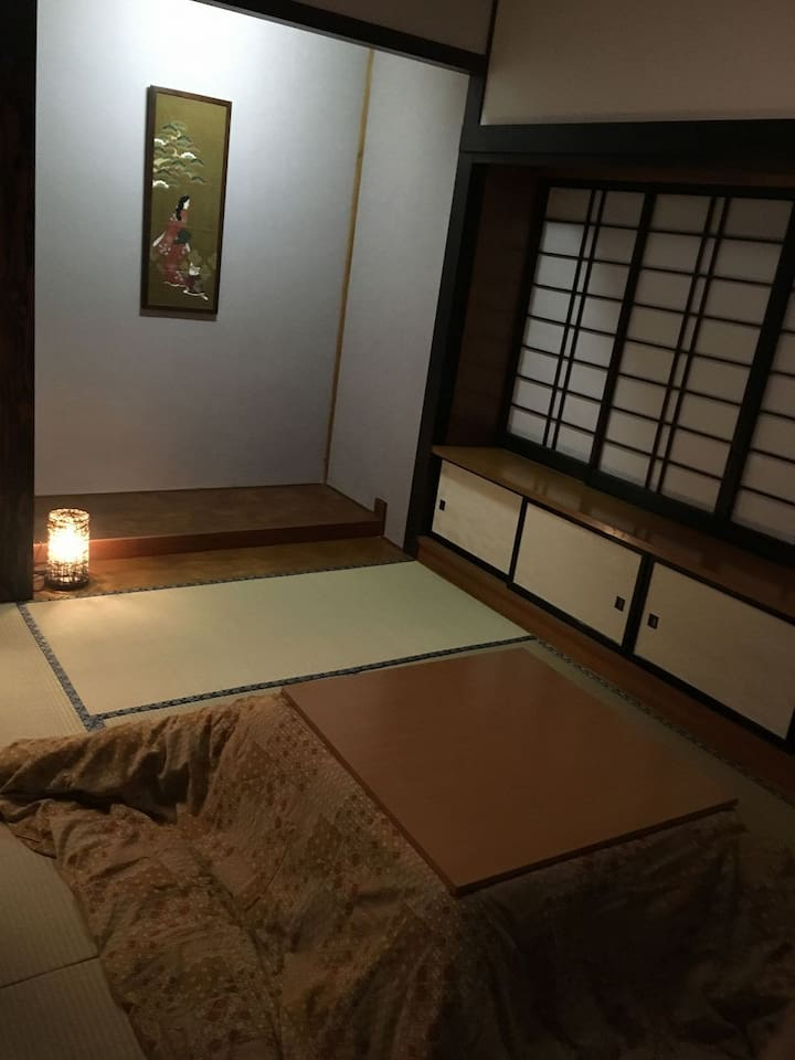 Second floor Guest room Japanese room and kotatsu 2階和室