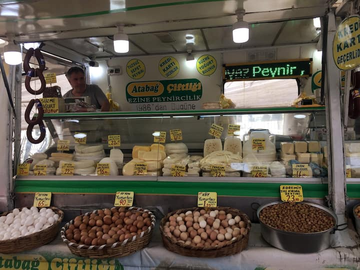 Would you like to taste turkish cheese?