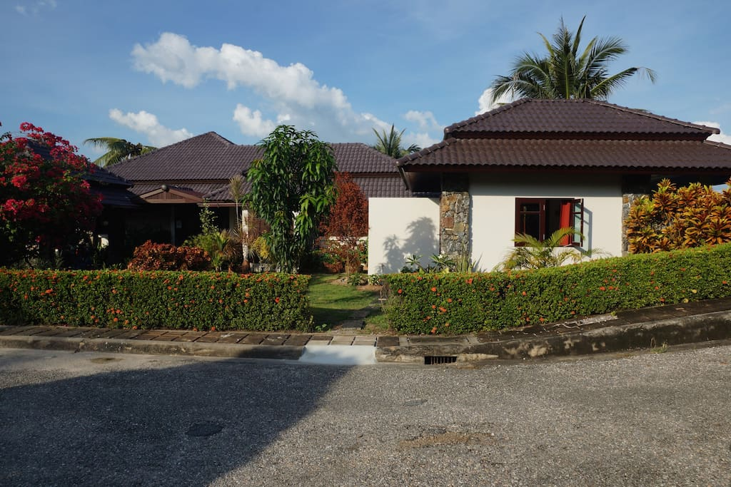 Bungalow from the street