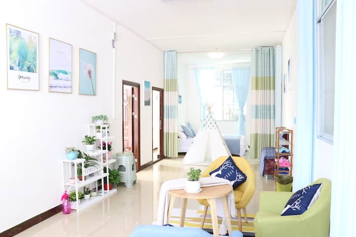 Lily`s  House(Foreyard) in Libo city