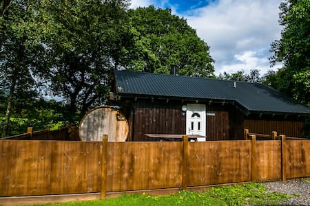 Taigh Nan Con Log Cabin, Dalavich, Hot Tub & Sauna - Dalavich