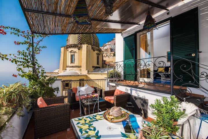 Beautiful Villa on Positano beach