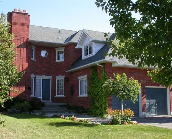 Our beautiful 3500 sq. ft. home awaits you, 15 minutes from Toronto Pearson Imternational Airport.