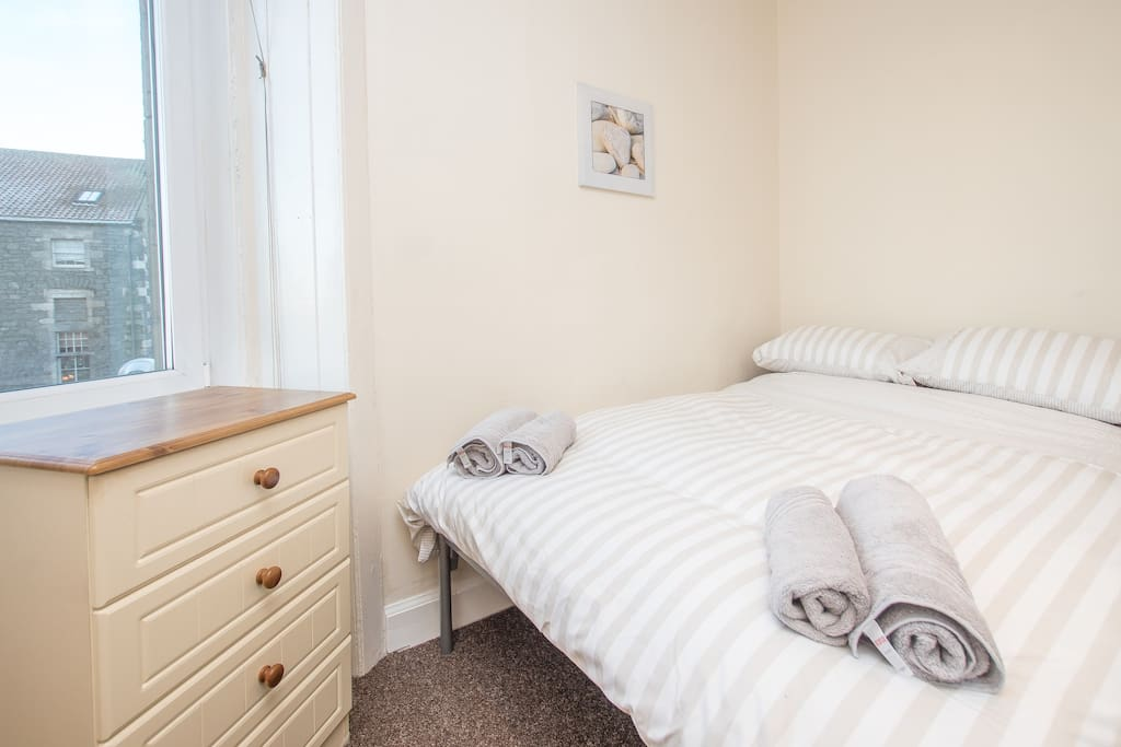 Double bedroom with comfy bed