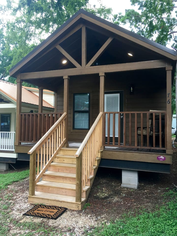 Tiny House 61 on Lake Conroe