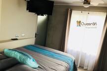 Pequeña habitación para dos personas