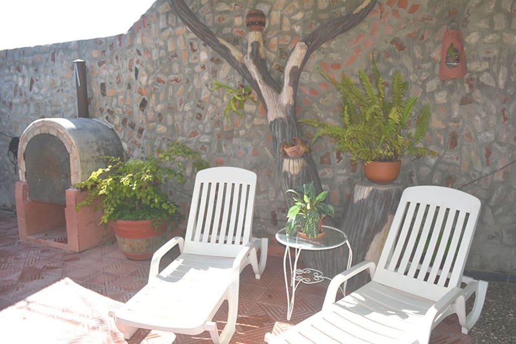 El espacio ideal para tomar el soy y disfrutar de una bebida refrescante en tus vacaciones de verano