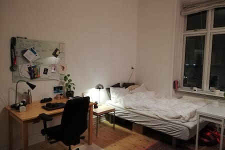 Spacious room for rent in Aarhus City center.