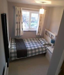 One guest bedroom, Clean & quiet