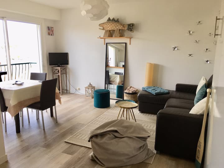 Appartement hyper centre La Baule 4 personnes