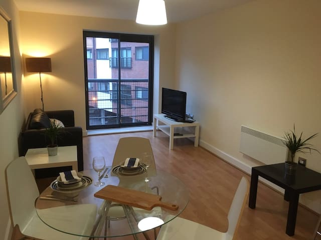 Bright city centre apartment - Birmingham - Lägenhet