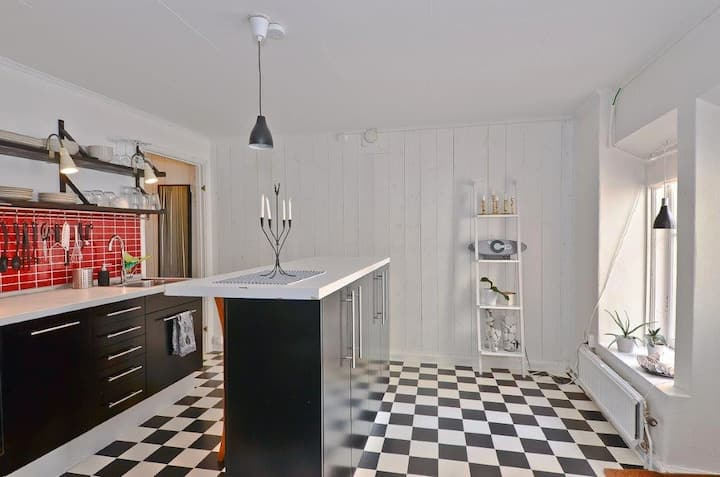 Stylish studio apartment in the heart of Visby