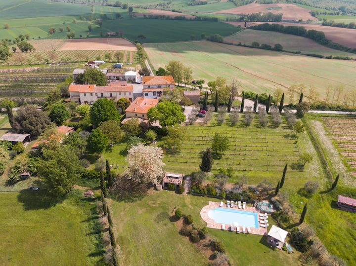 Rural Tuscany | Luxury Villa Biagio with pool