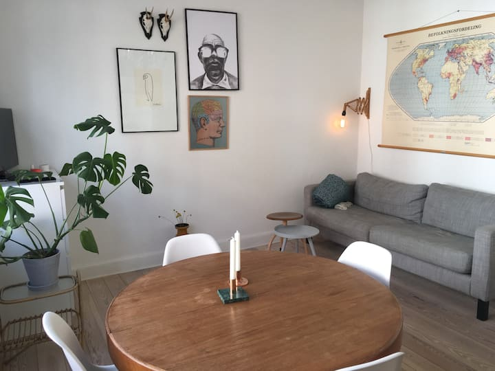 Charming apartment in the center of Aarhus