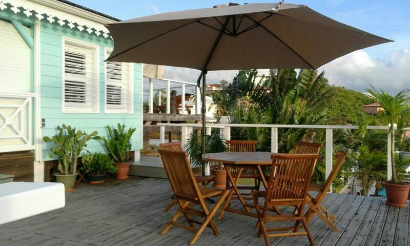 VILLA T4 avec piscine/jacuzzi/vue mer à Rère-Salèe - Sainte-Luce - Rumah