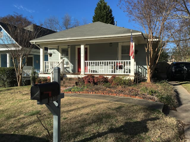Beautifully Renovated 2 2 Bungalow In Candler Park