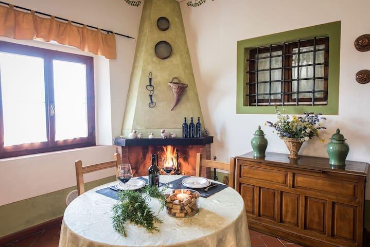 Romantic apartament in Chianti area - Lavanda