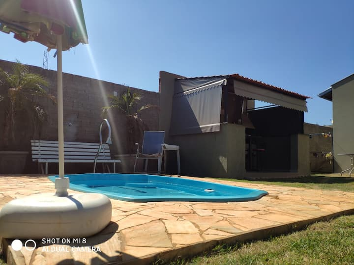 Casa em Mineiros do Tiete com Wi-Fi