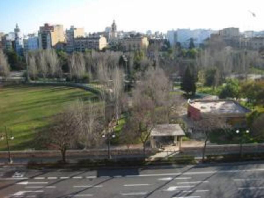 Vistas al parque
