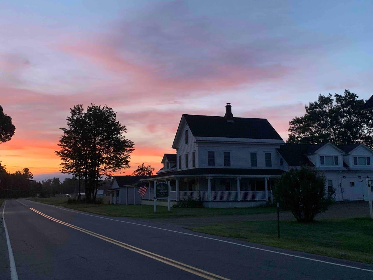 Good morning from the Damm House Inn