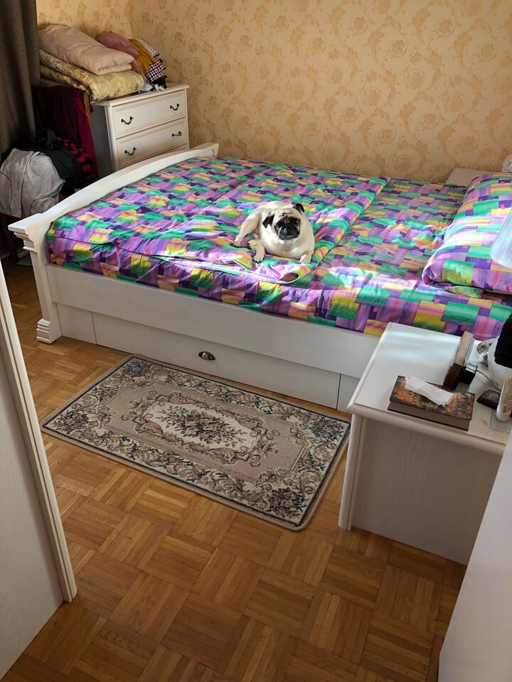Скромная уютная комната в 10 км от Санкт-Петербург