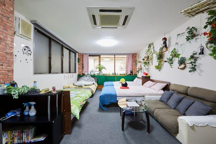 秋叶原4分钟/东京,浅草,上野,4分钟/2F