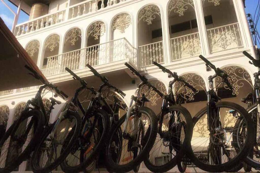 Vanguards offer adventure bike excursion and walking adventures
