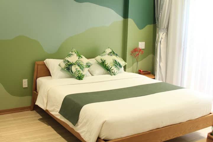 TheLocalStay*Double Room with Spacious Terrace