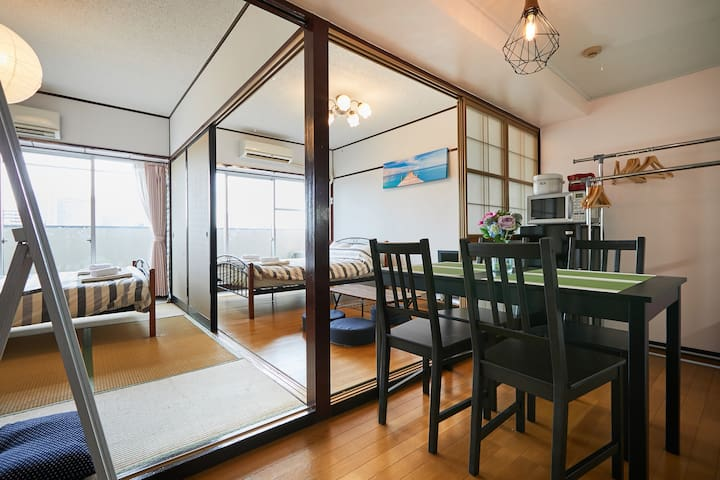 near SKYTREE and ASAKUSA, 2 bedroom