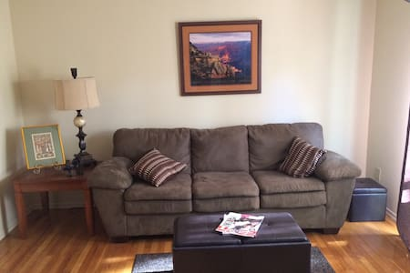 Clean Apartment, Awesome Couch - Franklin Township