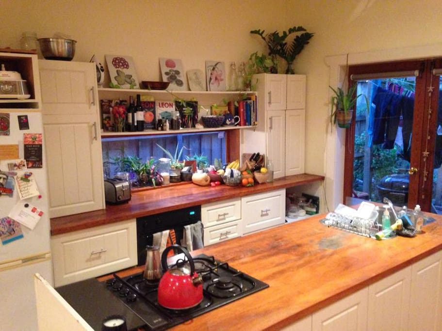 Fun kitchen for cooking