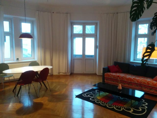 Generous and cosy flat in the centre centre