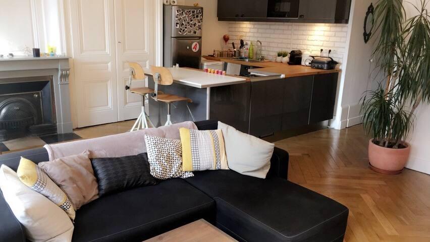 Appartement de charme à Tête d'Or - Lyon - Wohnung