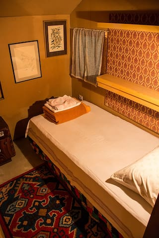 Bedroom #2 with one single bed