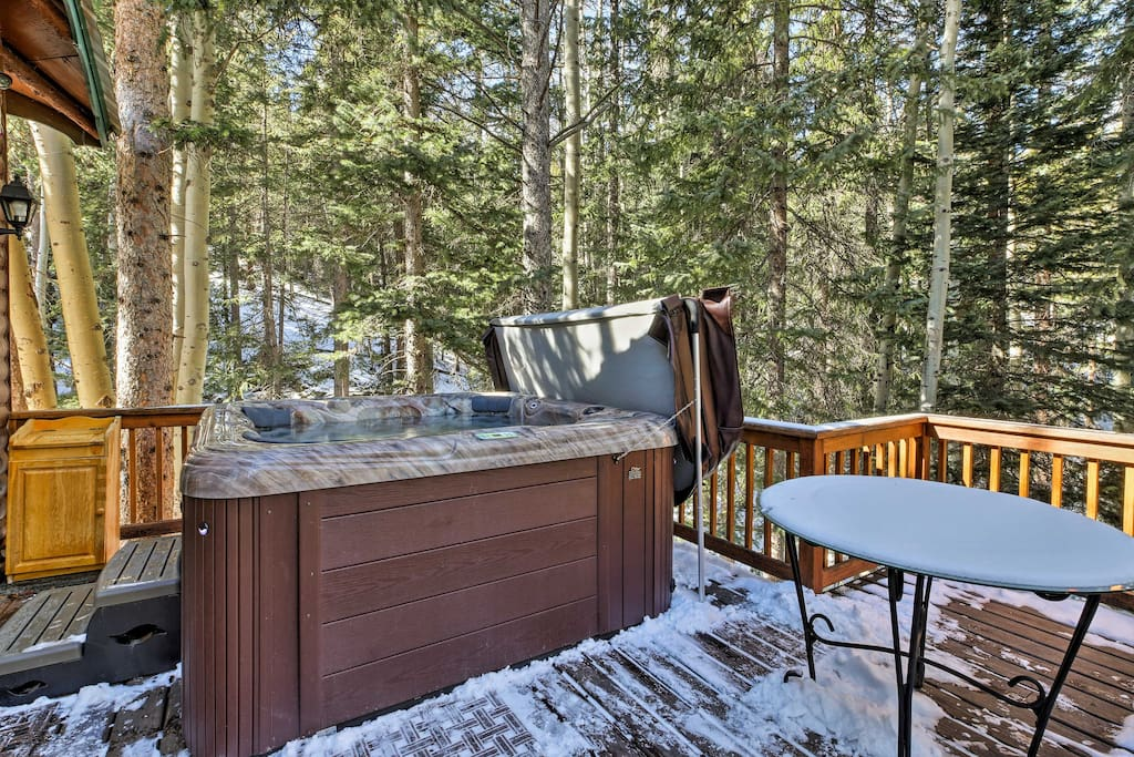 Idaho Springs Cabin W Hot Tub On 1 2 Acre Cabins For