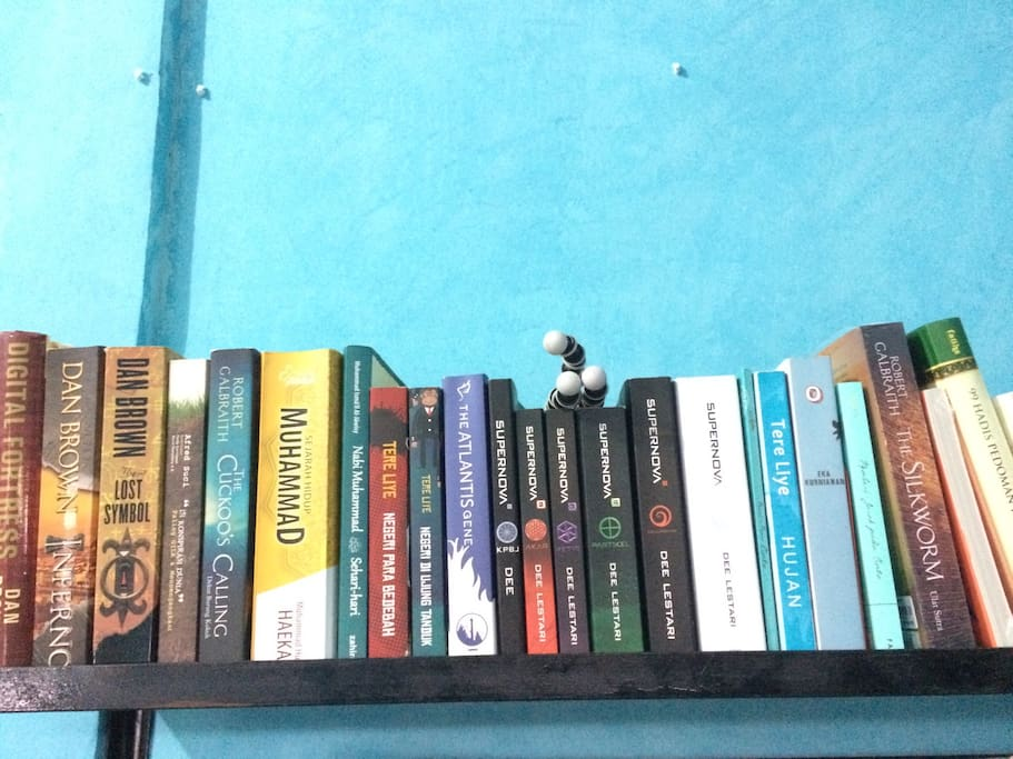 Books collection for a better time consuming when visiting Curup