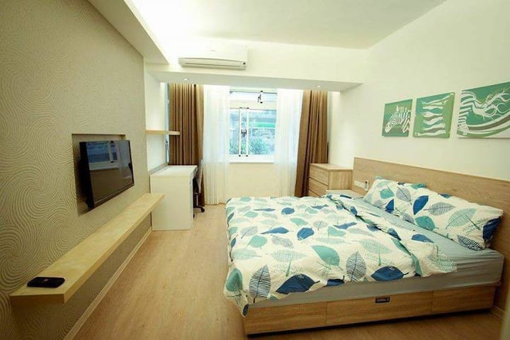 Muzha [Ensuite Room] in shared apartment. - Wenshan District - Appartement