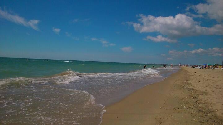 """Гостевой дом """"Злата"""" вблизи от моря и пляжа."""