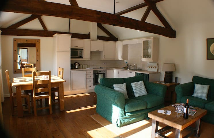 Luxury 55sqm 1 Bed Oxford Cottage - Noke - Hus