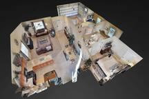 3D Virtual Tour - See Below!