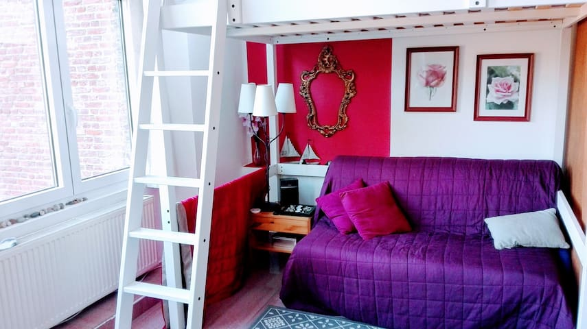 Charming Studio in City Center Namur