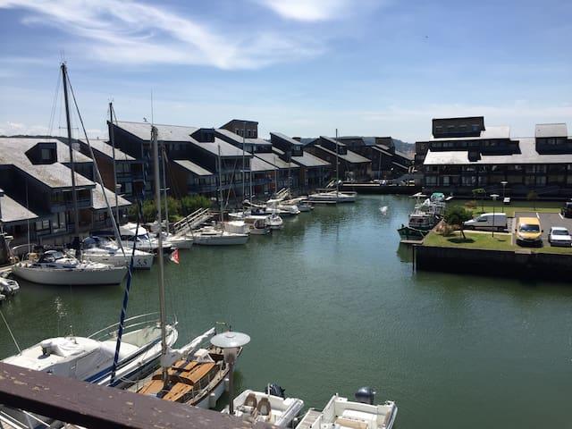 Port des Marina Photo prise sur le balcon de l'appartement
