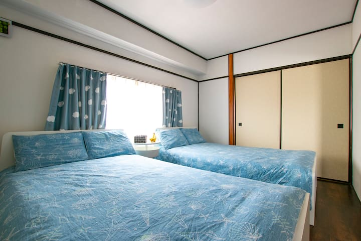 6 min to Shinjuku Sta by train+3 min walk BB