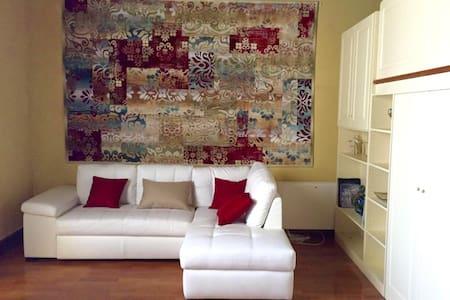 loft parquet - soffitto ligneo - soppalco x letto - Catanzaro - Flat