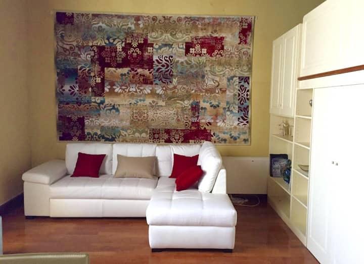 loft parquet - soffitto ligneo - soppalco x letto